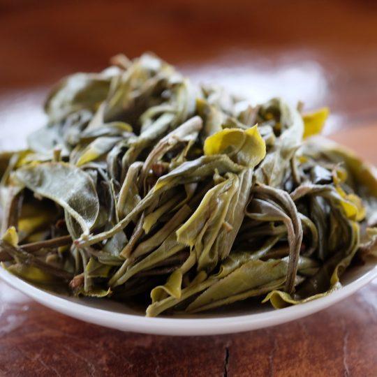 La préparation du thé vert